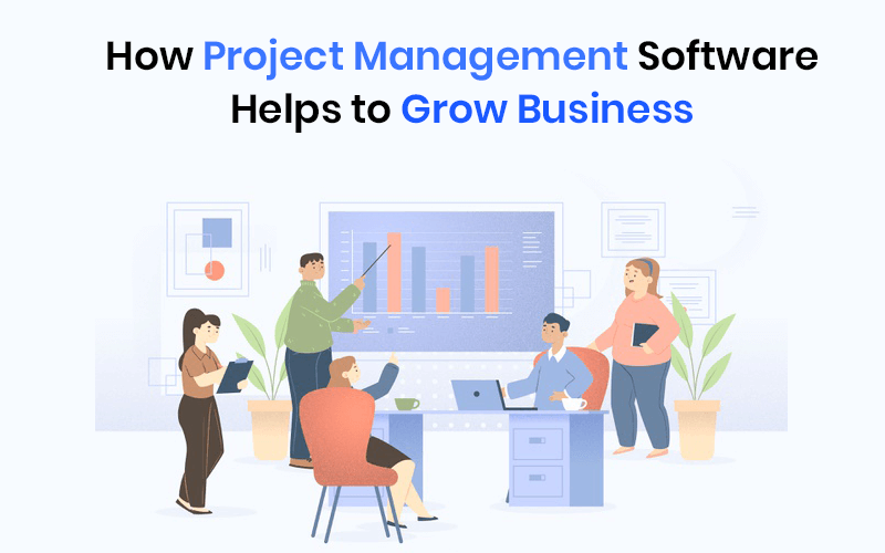 how project management software helps to grow business